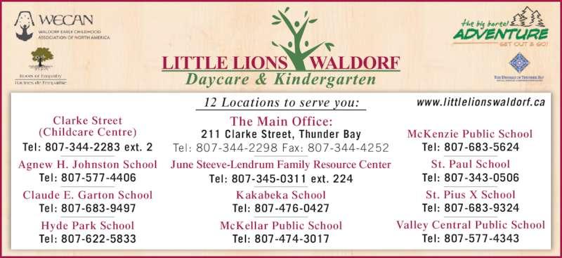 ad Little Lions Waldorf Daycare & Kindergarten