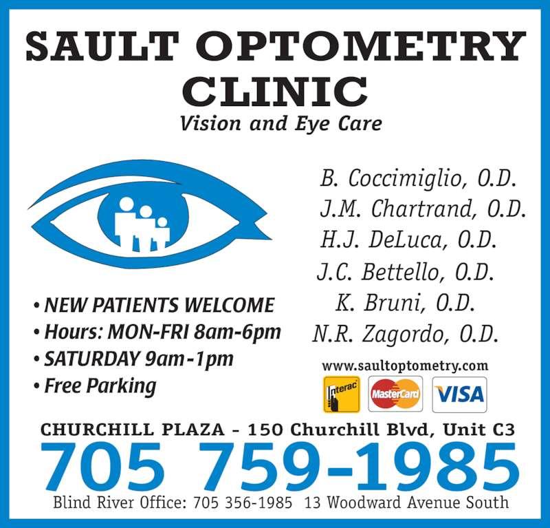 Sault Optometry Clinic Sault Ste Marie On C3 150