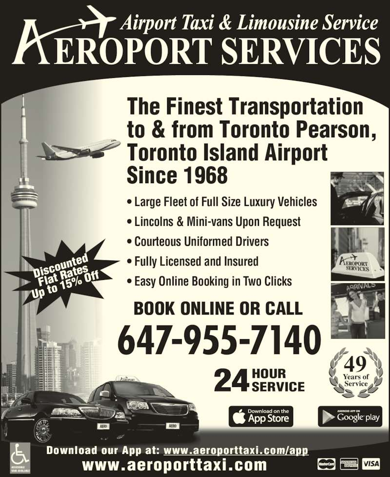 Aeroport Taxi Amp Limousine Service Opening Hours 849