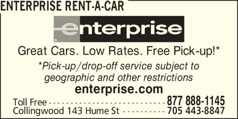 Enterprise Rent A Car Longueuil Qc