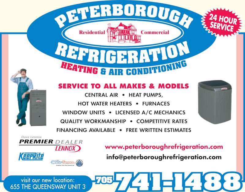 Peterborough Refrigeration Heating Amp Air Conditioning