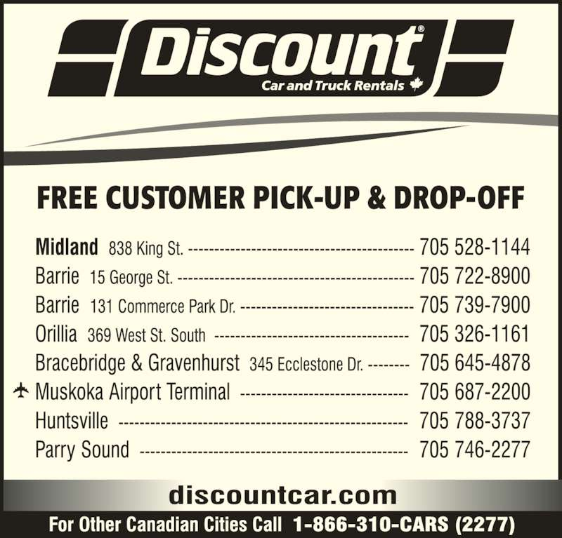 Discount Car Rental London Ontario