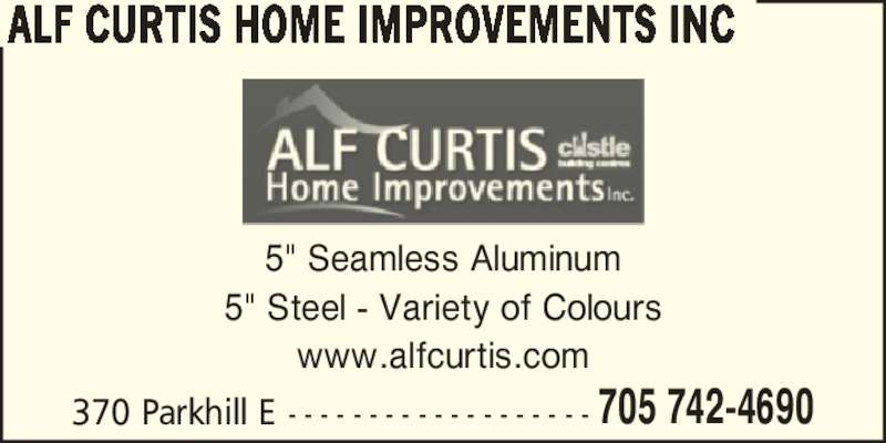 Alf Curtis Home Improvements Inc Peterborough On 370