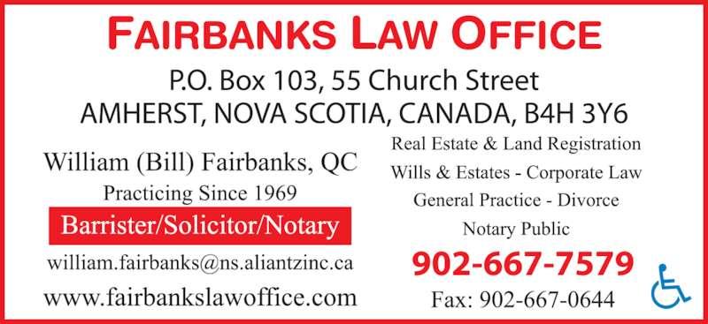 Fairbanks Law Office (9026677579) - Display Ad -