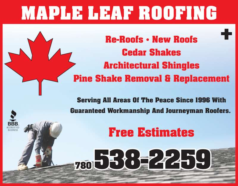 Maple Leaf Roofing And Home Improvements Grande Prairie