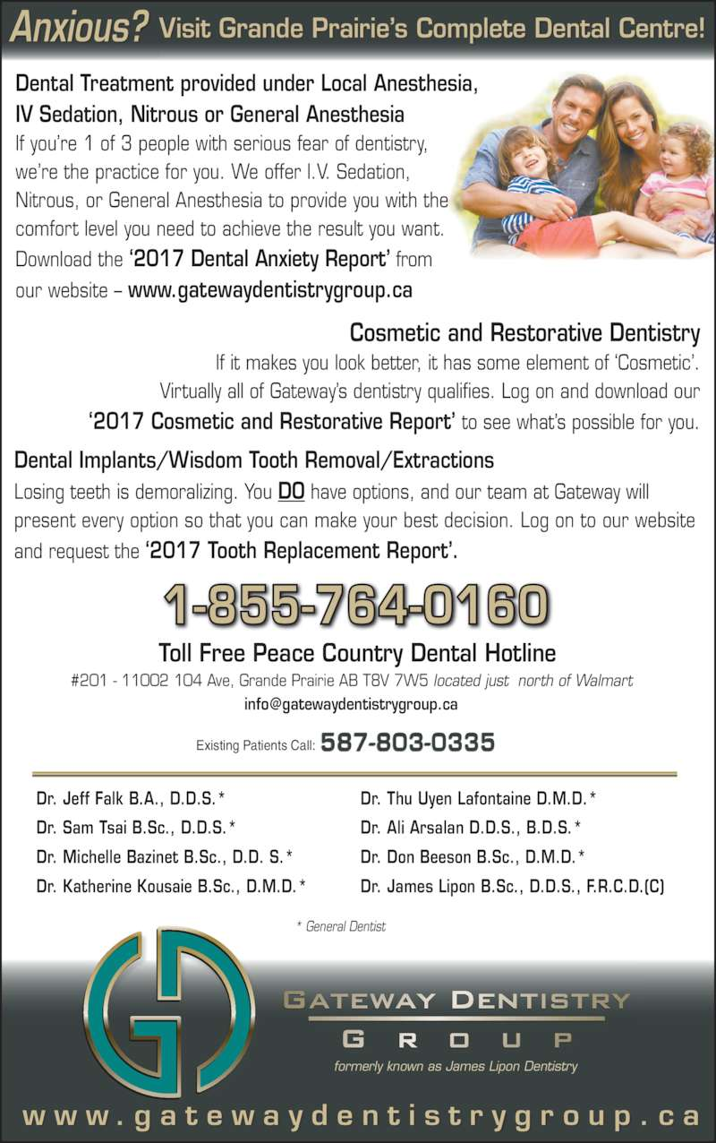 Gateway Dentistry Group - Opening Hours