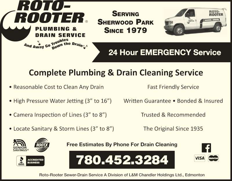 ad Roto-Rooter Plumbing & Drain Service