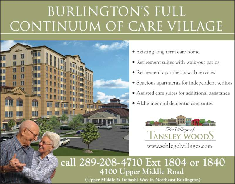 Ads Tansley Woods Village Of