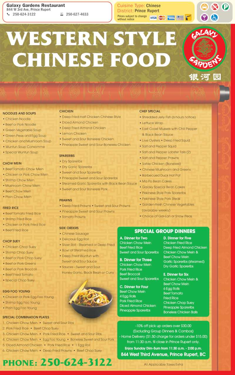 Saskatoon Yellow Pages Chinese Food