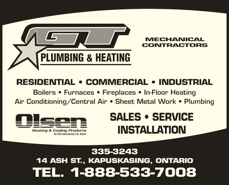 G T Plumbing Amp Heating Opening Hours 14 Ash St