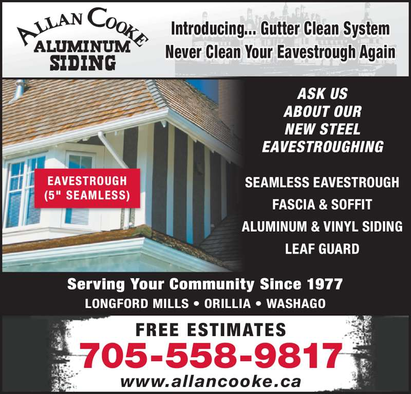 Allan Cooke Aluminum Siding Opening Hours 6200