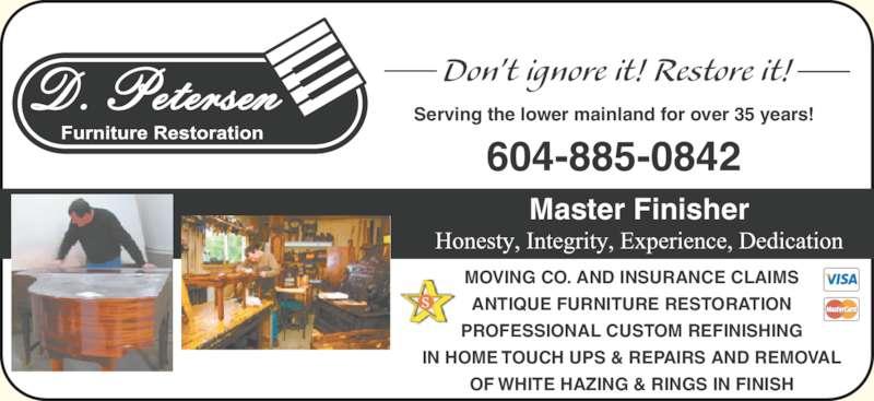 ... Ad D Petersen Furniture Restoration ...