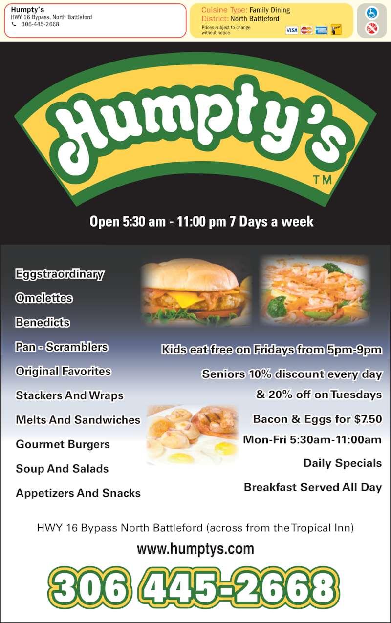 Humpty S Family Restaurant