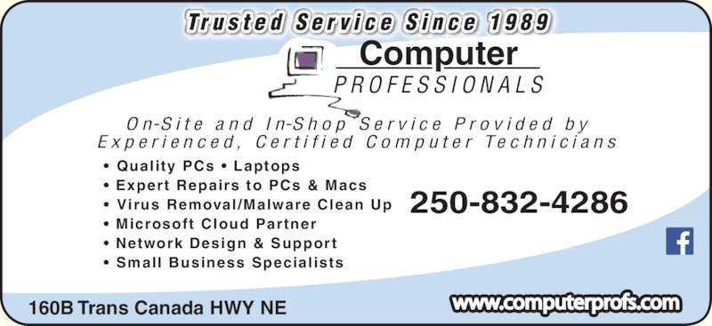 Computer Professionals Opening Hours 160b Trans Can
