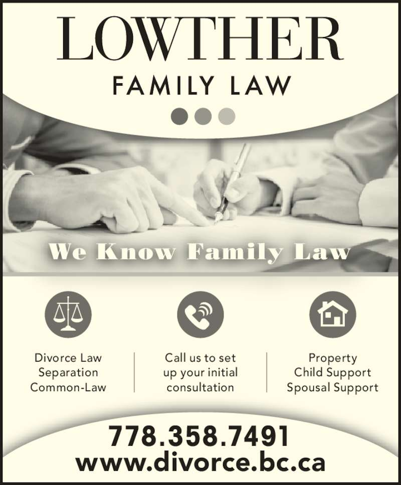 Family Law: Lowther Family Law - Vancouver, BC - 1030 Howe St