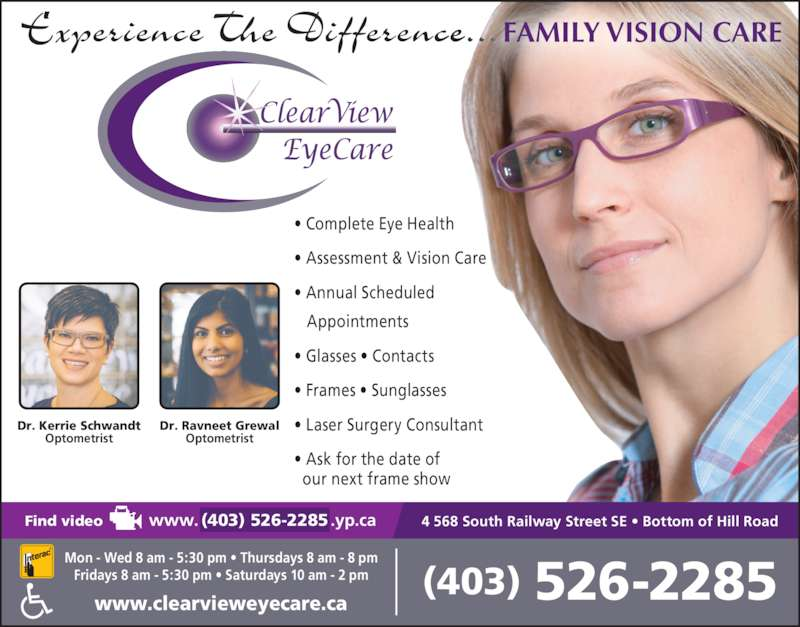 Clearview Eyecare Opening Hours 4 568 South Railway St