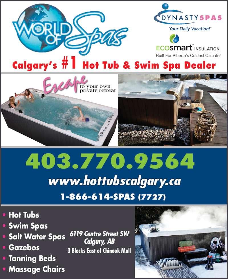 World Of Spas - Calgary, AB - 6121 Centre St SW