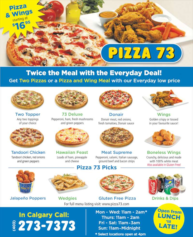 Pizza Fast Food Montreal