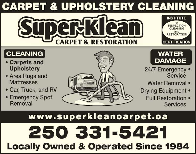 super klean carpet care opening hours po box 1486 stn a comox bc. Black Bedroom Furniture Sets. Home Design Ideas