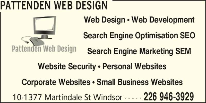 ad Pattenden Web Design