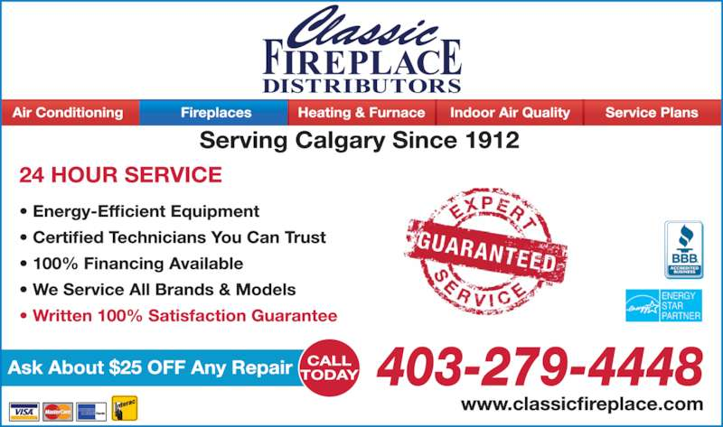ad Classic Fireplace Distributors