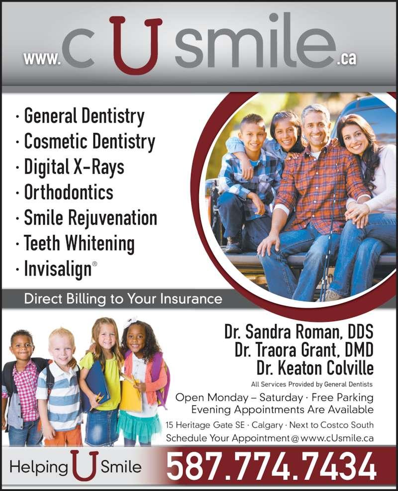 ad Calgary Smiles Dental Care