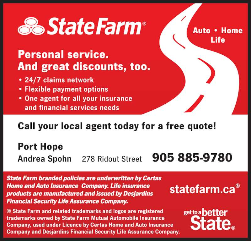 state farm phone number customer service