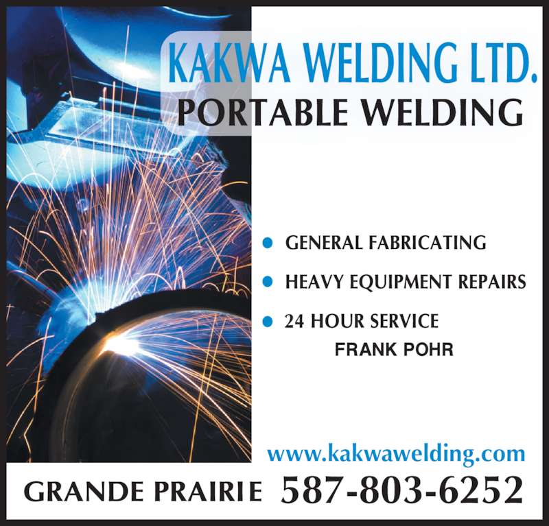 Kakwa welding ltd canpages for 24 hour tanning salon near me
