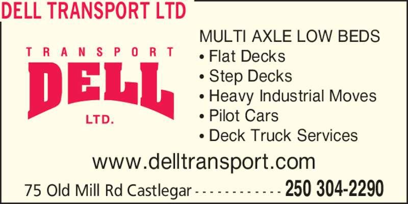 ad Dell Transport Ltd