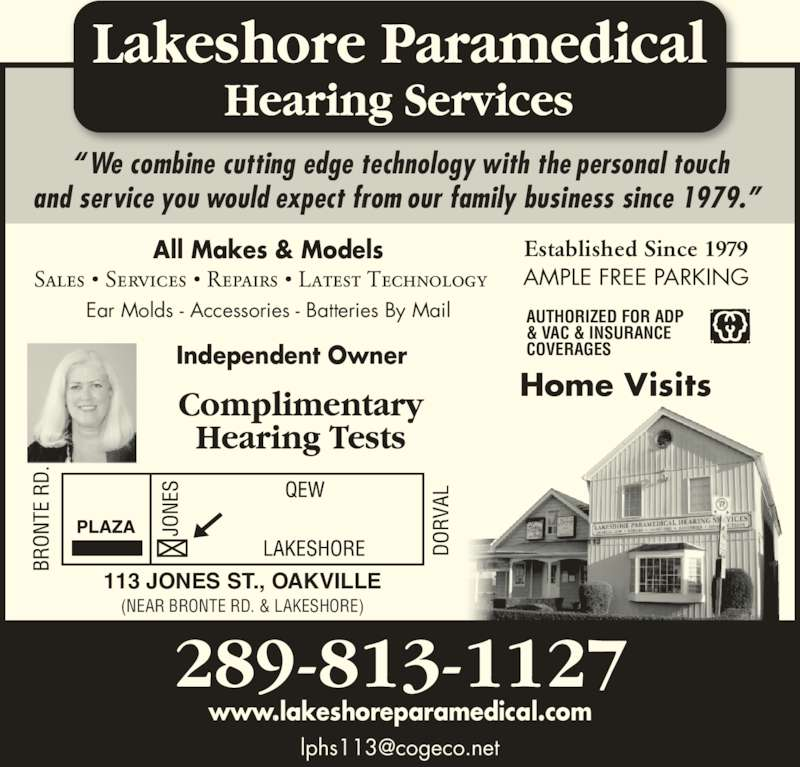 ad Lakeshore Paramedical Hearing Services