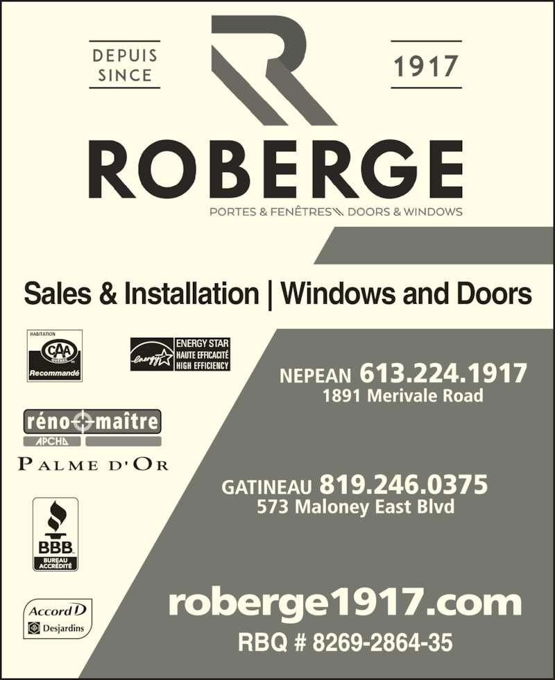ad Roberge Doors & Windows