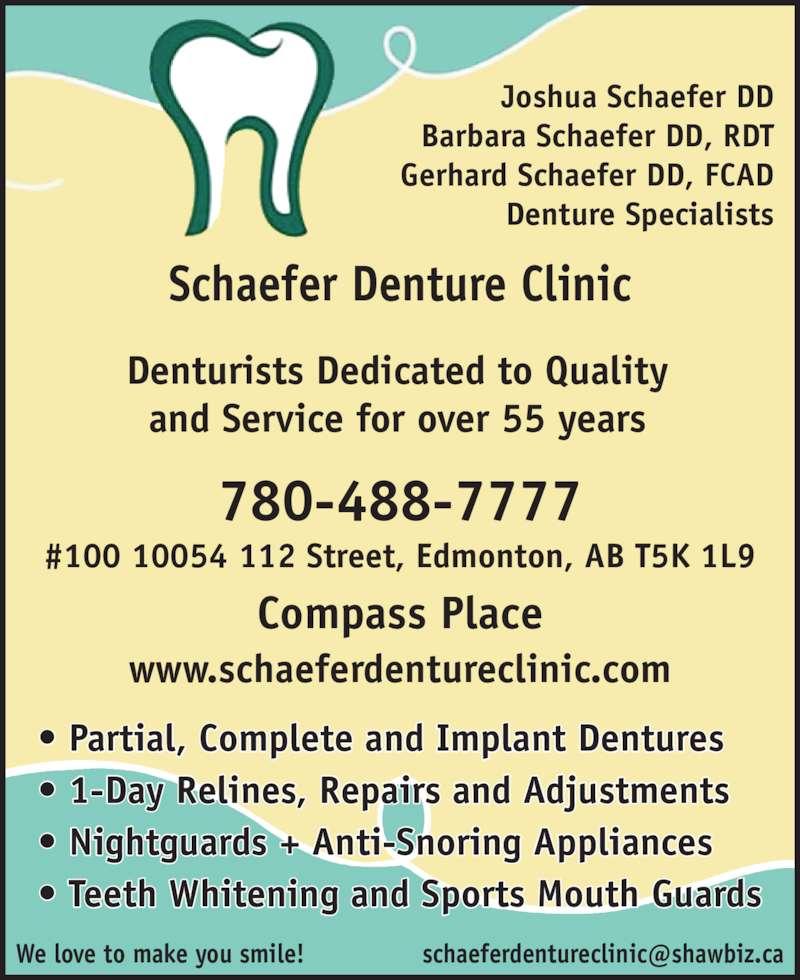 ad Schaefer Denture Clinics