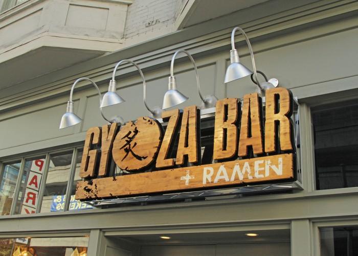 Gyoza, Ramen, tapas, cocktails