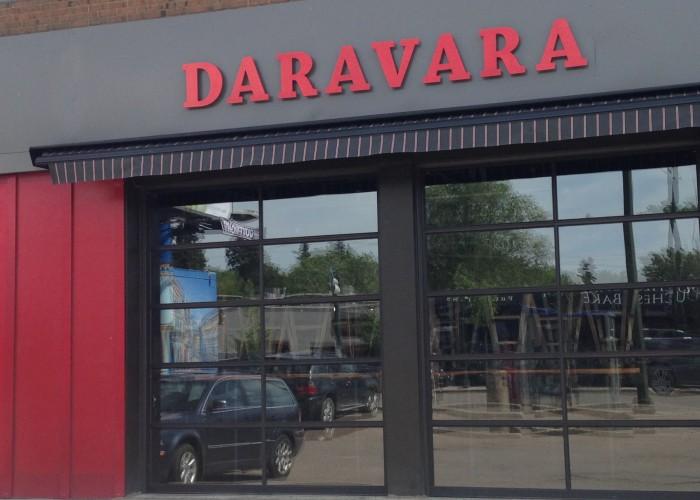 Daravara is a popular gastropub on 124 Street, a booming downtown district in Edmonton