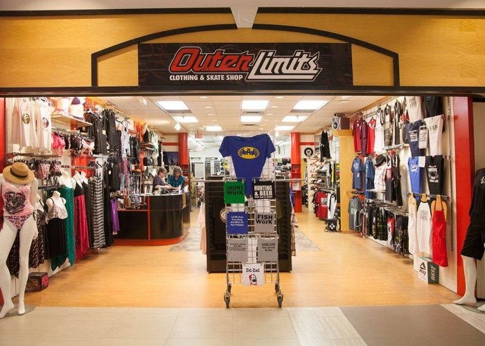 Outer limits clothing co inc maple ridge business story for Custom shirt stores near me