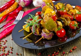 Aromatic pork kebabs for any occasion