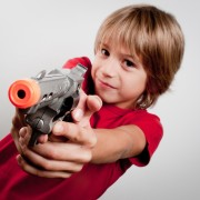 Is buying violent toys for your children really that bad?