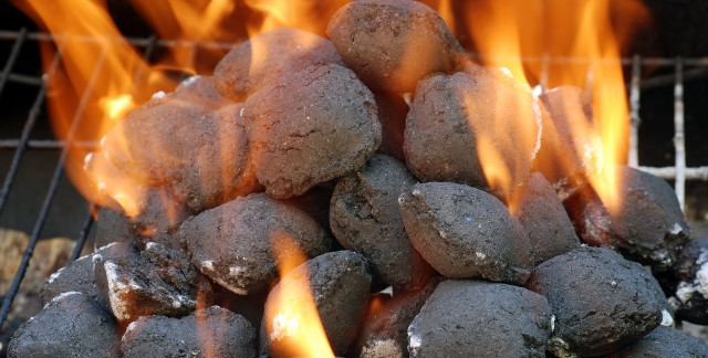 Simple ways to smoke fish and light a charcoal barbecue