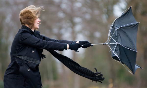 Rainy day remedies: How to fix an umbrella and start knitting