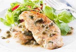 Learn to cook a blood pressure safe turkey piccata