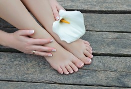 Give yourself a relaxing mani-pedi