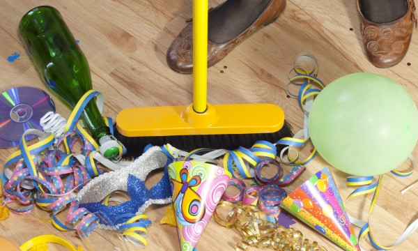 4 cleaning tips for after parties