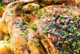 Chicken 2 ways: fennel-based and Spanish style