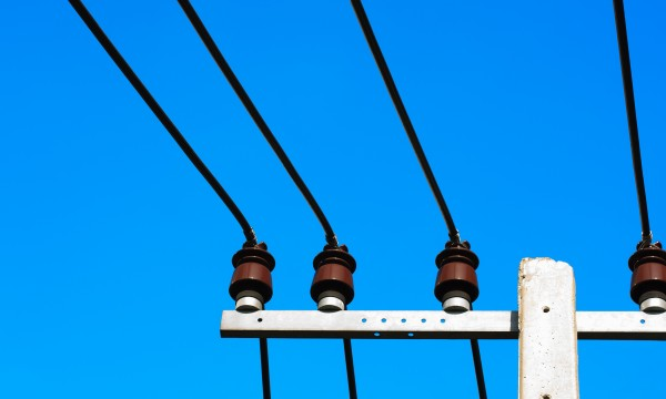 What can happen if I do yard work around a power line?