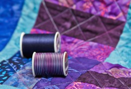 Joining quilt layers in 4 easy steps