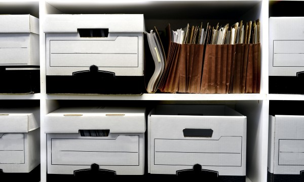 How to set up a proper filing system for important papers