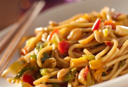 Whip up some cheesy pasta with banana peppers