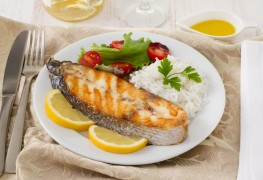 Prepare and cook a whole, round fish like a chef