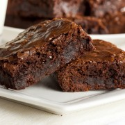 A healthy recipe for fudgy brownies