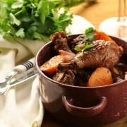 Delightful chicken stew with butternut squash